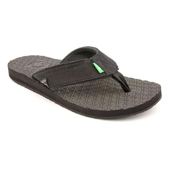 Sanuk Men's 'Rasta Didgeridude' Basic Textile Sandals