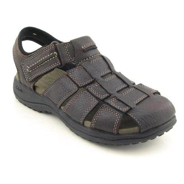 Clarks Men's 'Jensen' Leather Sandals