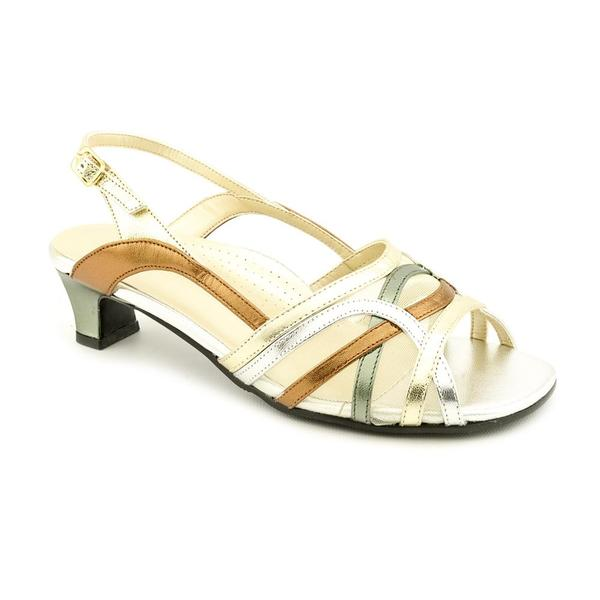 David Tate Women's 'Curve' Leather Dress Shoes - Wide