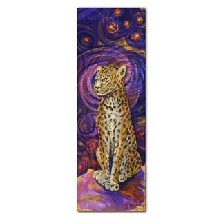 Nancy Jean Busse 'Leopard' Metal Wall Sculpture