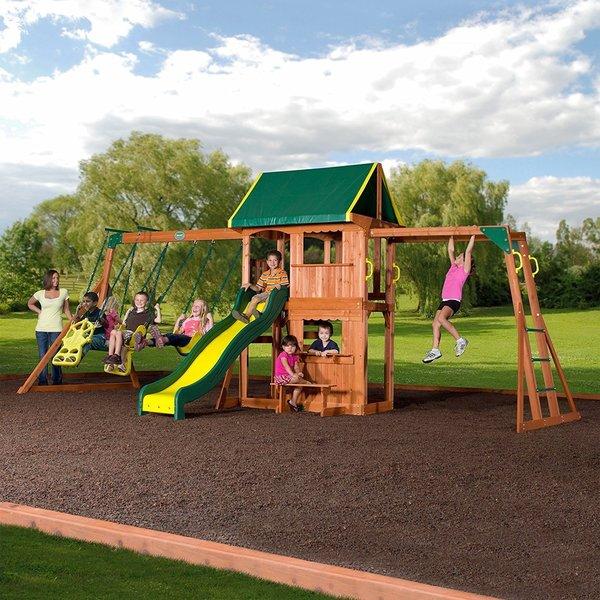 backyard discovery prairie ridge playset - Lifetime Adventure Tower Playset