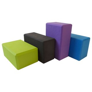 Bean Products 2-pack Large High Quality Foam Yoga Block (Option: Green)