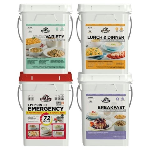 Augason Farms Deluxe Emergency Food Supply Pail Kit