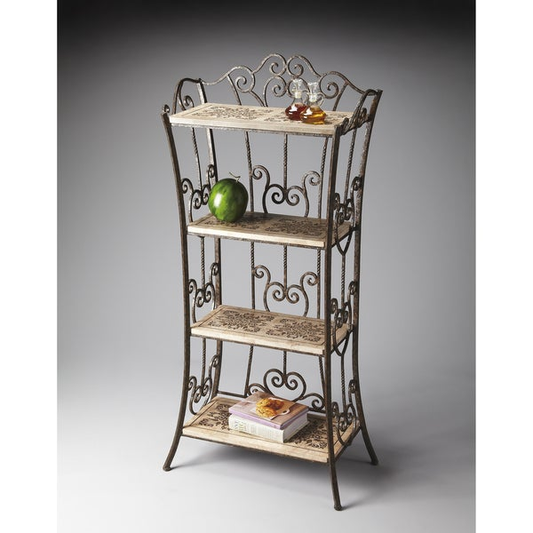 Fossil Stone Etagere
