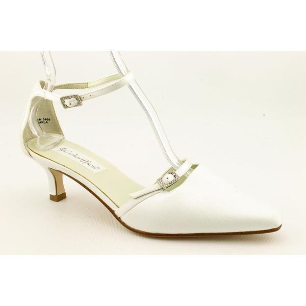 Coloriffics Women's 'Carla' Satin Dress Shoes