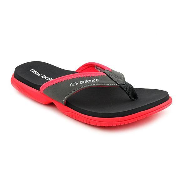 cb8e695b1a1 Shop New Balance Women s  JoJo Thong  Synthetic Sandals - Free ...