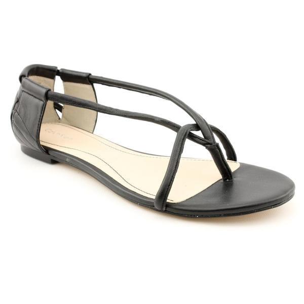 Calvin Klein Women's 'Roslyn' Leather Sandals (Size 7)