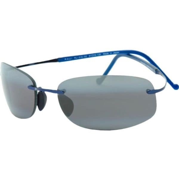 Maui Jim Unisex 'Honolua Bay' 516 03 Titanium Polarized Sunglasses