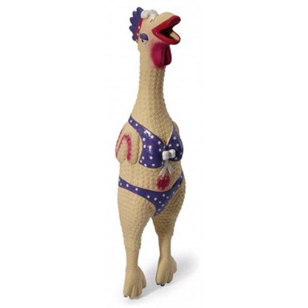 Charming Pet Products Henrietta Chicken Toy
