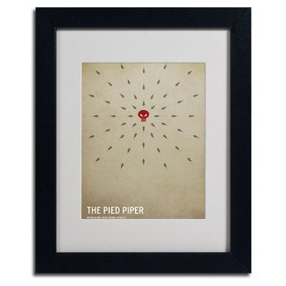 Christian Jackson 'The Pied Piper' Giclee Framed Matted Art