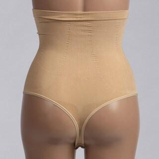 Fullness 'Valencia' High-waist Seamless Thong Shapewear