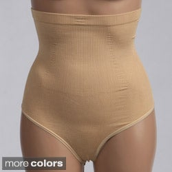 Fullness 'Valencia' High-waist Seamless Thong Shapewear