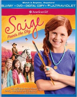 An American Girl: Saige Paints the Sky (Blu-ray/DVD)