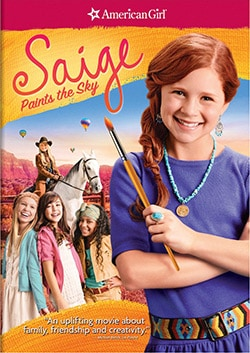 An American Girl: Saige Paints The Sky (DVD)