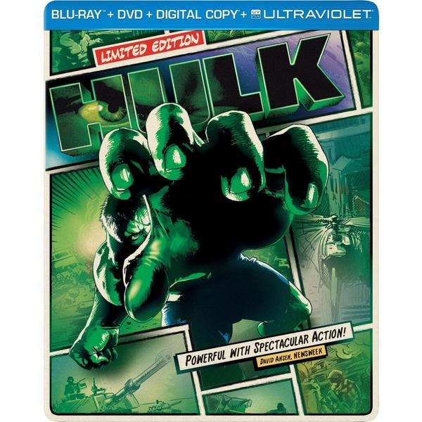 The Hulk - Limited Edition Steelbook (Blu-ray/DVD)