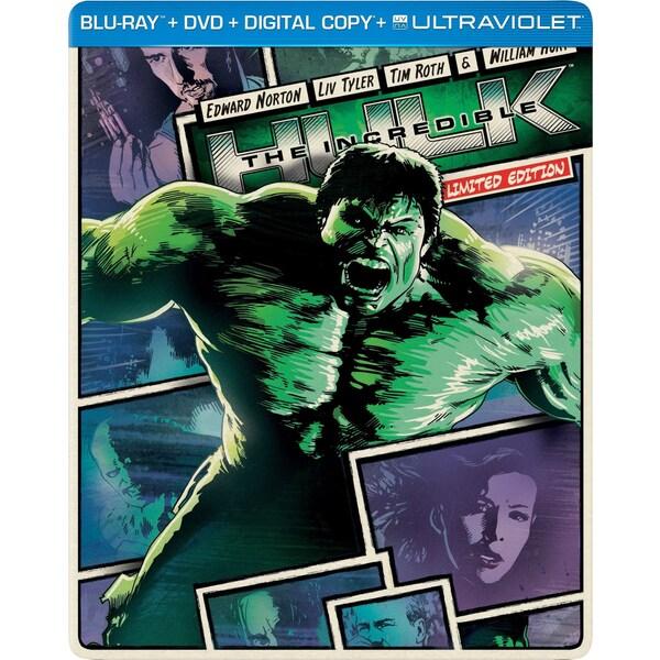 The Incredible Hulk - Limited Edition Steelbook (Blu-ray/DVD)