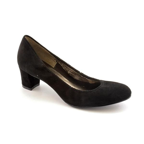 Daniblack Women's 'Cooper' Regular Suede Dress Shoes