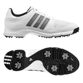 Adidas Tech Response 4.0 White/ Silver Golf Shoes