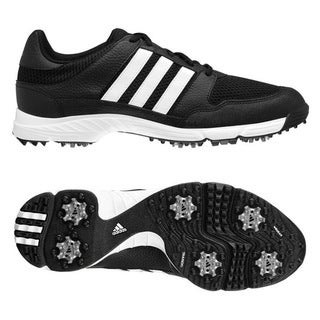 Adidas Tech Response 4.0 Black/ White Golf Shoes