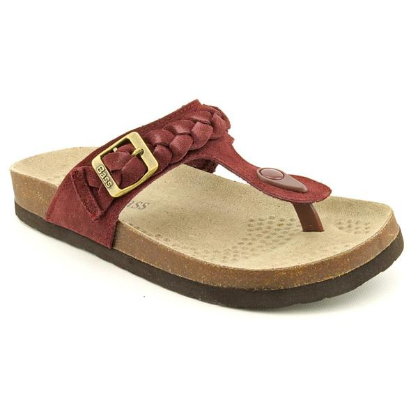 Bass Women's 'Erin' Regular Suede Sandals