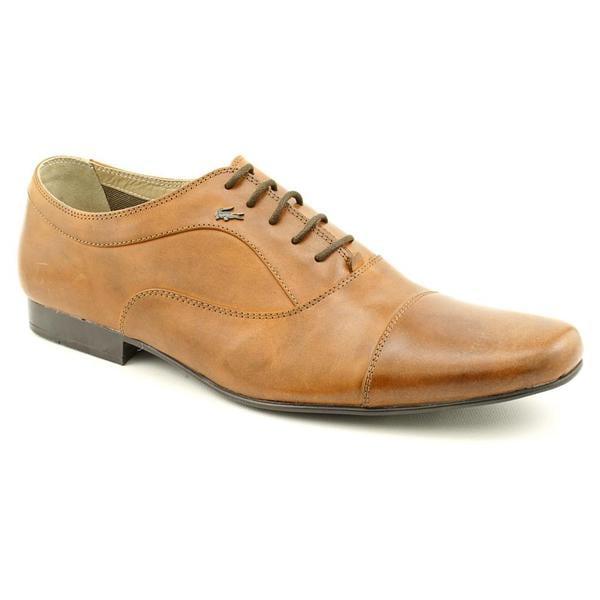 lacoste s dupuis 2 leather dress shoes size 13