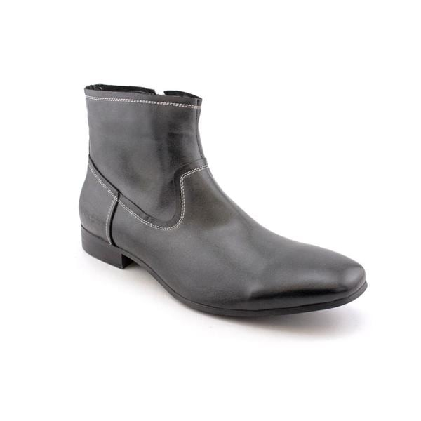 Kenneth Cole Reaction Men's 'Pro-Ceeding' Leather Boots (Size 11.5)