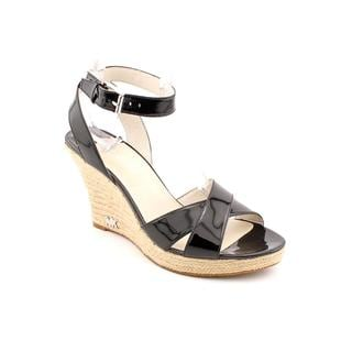Michael Kors Women's 'Kami Ankle Strap' Patent Leather Sandals