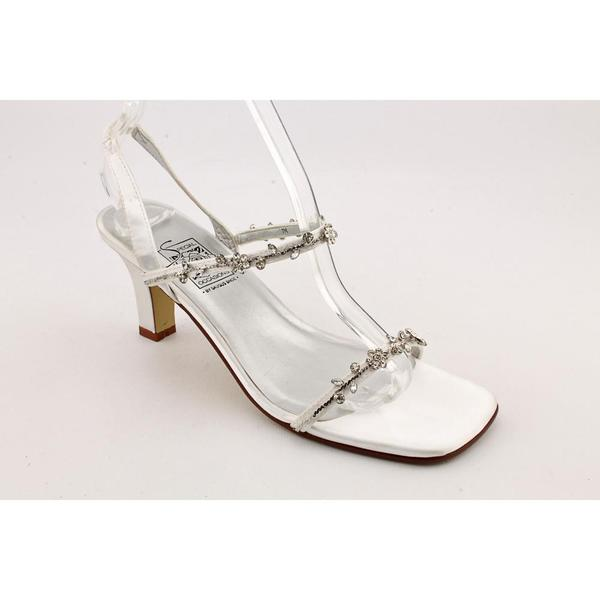 Special Occasions Women's 'Jewell' Satin Sandals (Size 7)