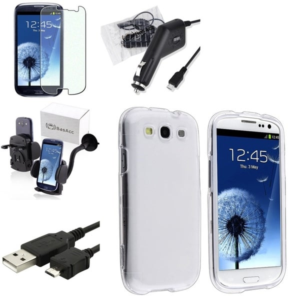 Case/ Screen Protector/ Charger/ Cable/ Mount for Samsung© Galaxy S3