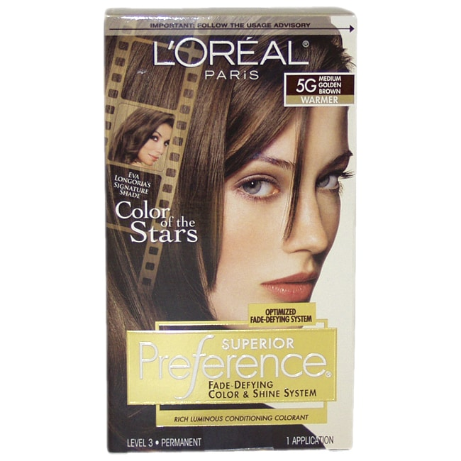 L'Oreal Superior Preference Fade-Defying Hair Color (1), ...