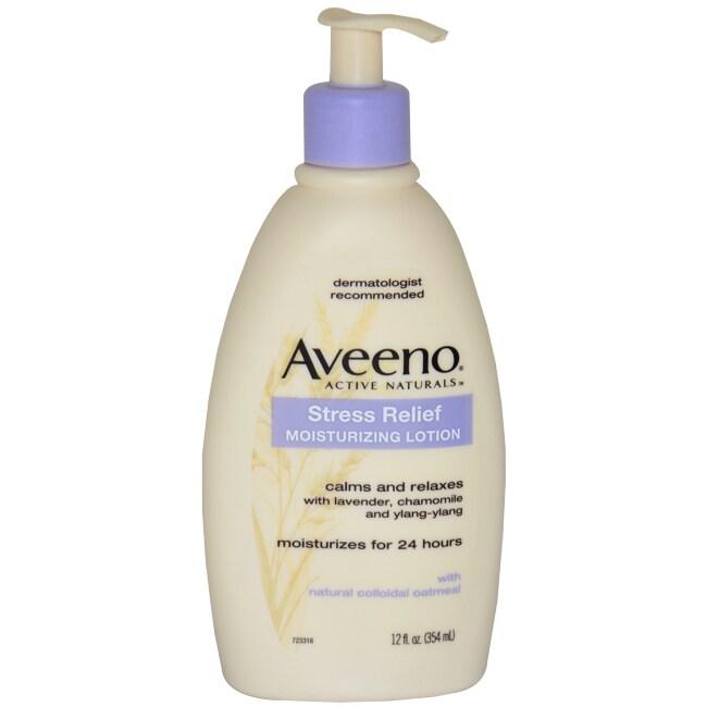 Aveeno Stress Relief 12-ounce Moisturizing Lotion (1), Be...