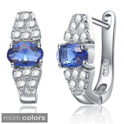 Collette Z Sterling Silver Cubic Zirconia Earrings