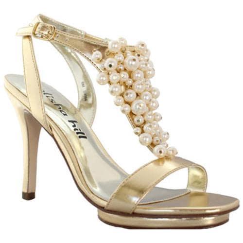 Women's Alisha Hill Giselle Gold Polyurethane