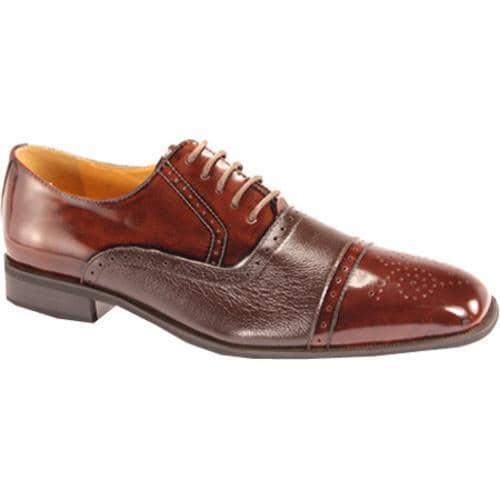 Men's Giorgio Venturi 5925 Burgundy Polished Leather