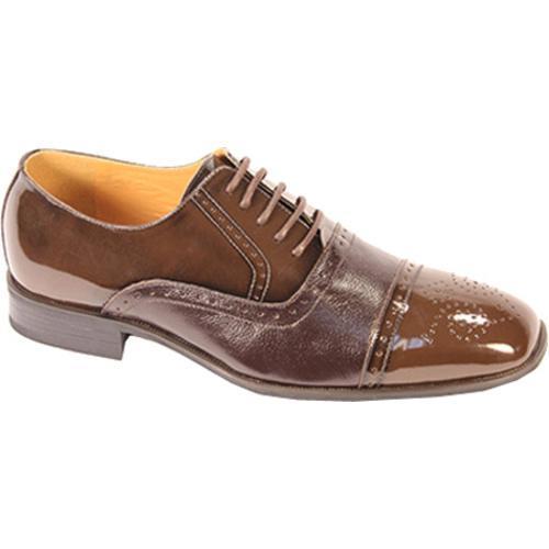 Men's Giorgio Venturi 5925 Chocolate Brown Polished Leather