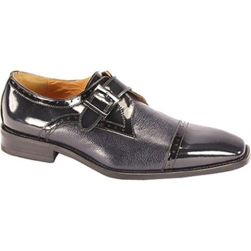 Men's Giorgio Venturi 6298 Navy Polished Leather