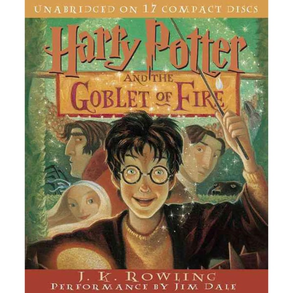 Harry Potter and the Goblet of Fire (CD-Audio)
