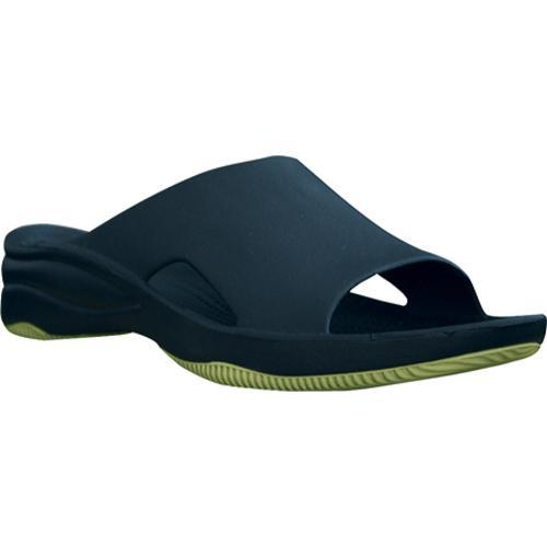 4c46e07e9ad Shop Women s Dawgs Slide Rubber Sole Navy Lime Green - Free Shipping On Orders  Over  45 - Overstock.com - 7936416
