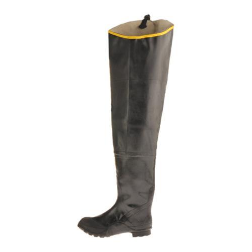 Men's Diamond Rubber Products Steel Toe Hip Boot 29 Black