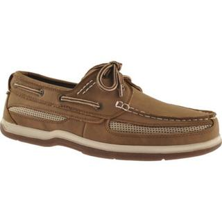 Island Surf Company Men's Cod Dark Brown Boat Shoes (More options available)