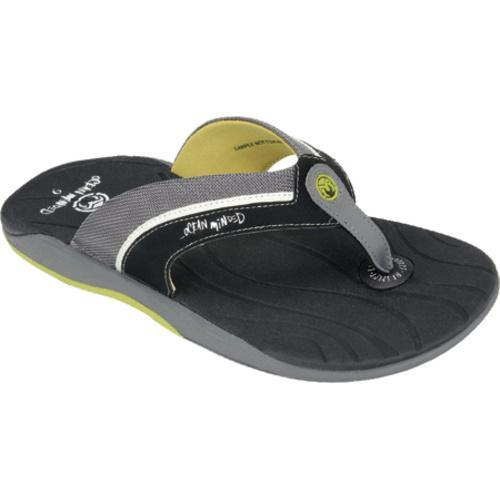 55bc8129f018 Shop Men s Ocean Minded by Crocs Seaweed III Flip-Flop Smoke Citrus - Free  Shipping On Orders Over  45 - Overstock - 7937145