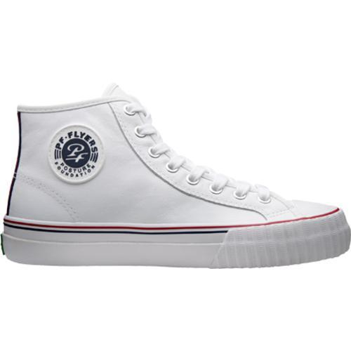 PF Flyers Center Hi White Leather