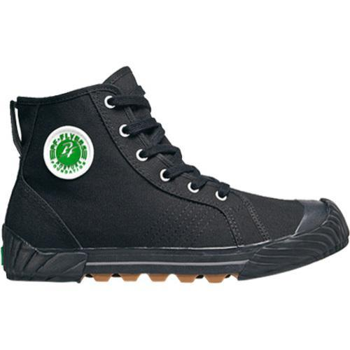 Shop Pf Flyers Grounder Ii Black Canvas Free Shipping