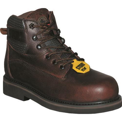 Men's Pro Line RT Series 6in Steel Toe Dark Brown Oiled Full Grain Leather