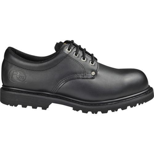 Men's Roadmate Boot Co. 403 4in Oxford Steel Toe Black Oil Full Grain Leather