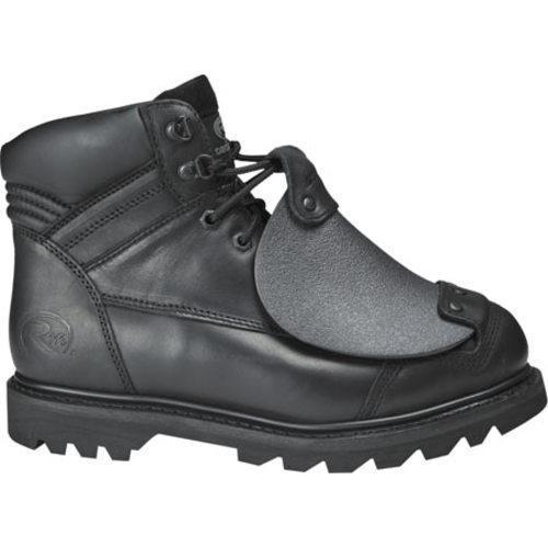 Men's Roadmate Boot Co. 6in External Metatarsol Work Boot Black Oil Full Grain Leather