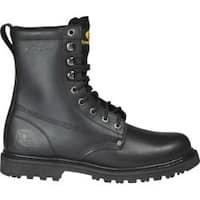 Men's Roadmate Boot Co. 810 8in Work Boot Steel Toe Black Oil Full Grain Leather
