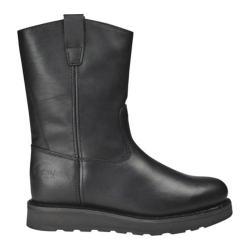 Men's Roadmate Boot Co. 833 10in Wellington Steel Toe Black Oil Full Grain Leather (More options available)
