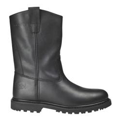 Men's Roadmate Boot Co. 833H 10in Flexible Wellington Steel Toe Black Oil Full Grain Leather