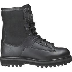 Men's Roadmate Boot Co. 837 8in Cordura Tactical Boot Steel Toe Black Full Grain Leather/Cordura